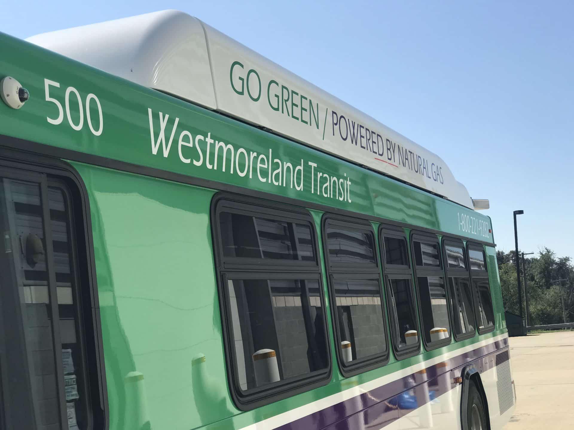 WCTA Gillig bus