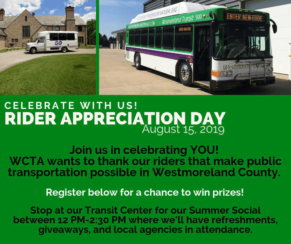 Rider Appreciation Day Announcement