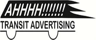 Ahhhh!!!!!!! Transit Advertising logo
