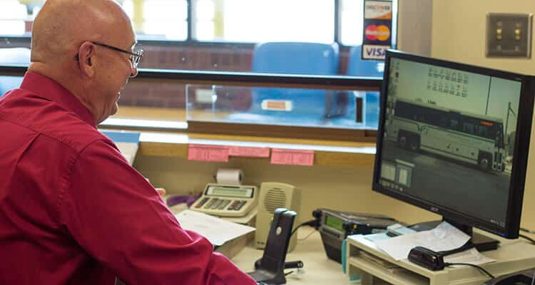 Westmoreland Transit dispatcher